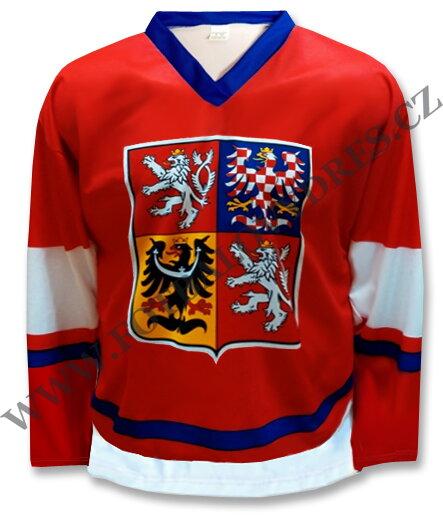fad196bf0 Hokejový dres ČR klasik červený