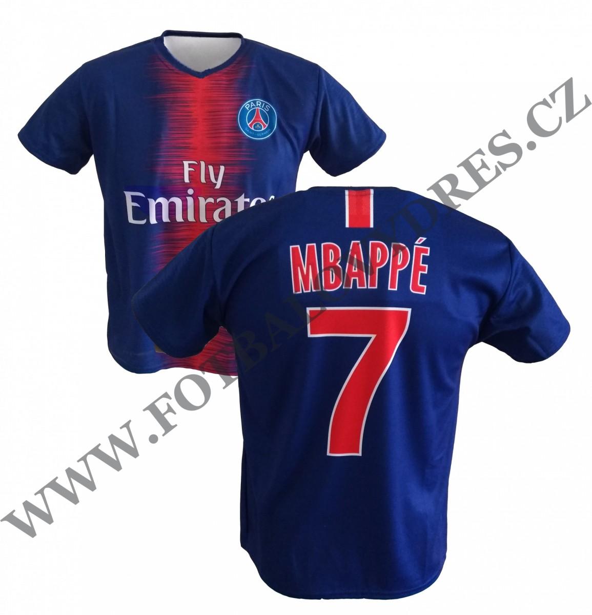 7536399d0 MBAPPE fotbalovy dres PSG