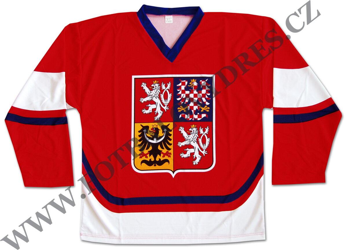 863948e8c Hokejový dres ČR červený