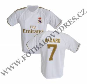 HAZARD fotbalový dres Real Madrid